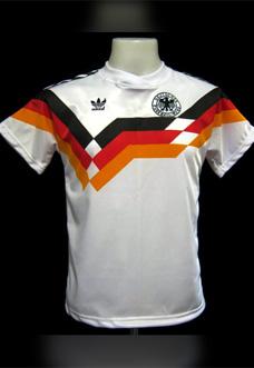 História da camisa da seleção alemã