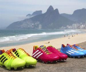 Adidas lança Coleção Samba de chuteiras em homenagem ao Brasil