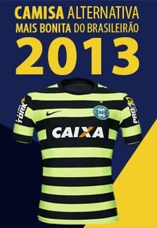 Camisa alternativa mais bonita do Brasileirão 2013 capa