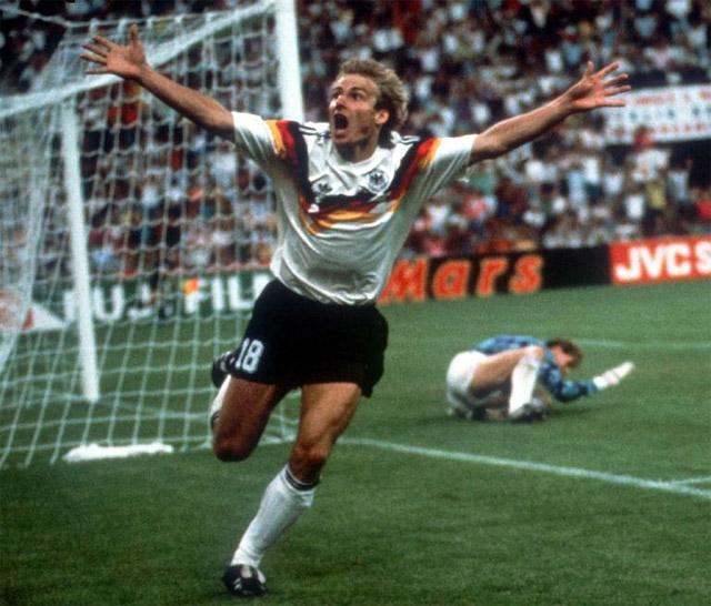 Camisa da Alemanha 1990