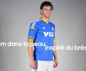Olympique de Marseille lança camisa inspirada no Brasil capa