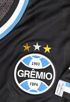 Terceira camisa do Grêmio 2013-2014 Black