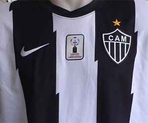 Atlético-MG vestindo Nike em 2014 capa