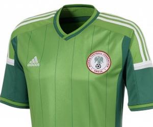 Camisa da Nigéria 2014-2015 Copa do Mundo capa