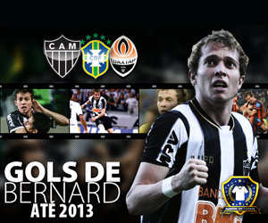 Gols de Bernard até 2013 capa
