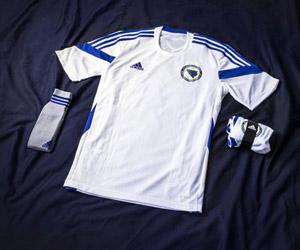 Camisas da Bósnia Herzegovina 2014-2015 Copa do Mundo capa