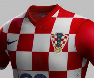 Camisas da Croácia 2014-2015 Copa do Mundo capa