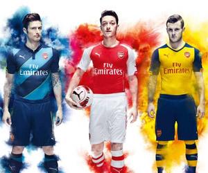 Camisas do Arsenal 2014-2015 Puma Capa