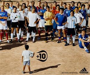 Comercial Adidas José +10 capa
