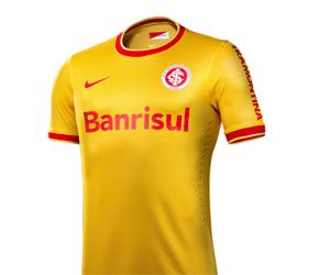 Camisa amarela do Internacional 2014 Nike capa