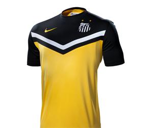 Camisa amarela do Santos 2014 Nike capa