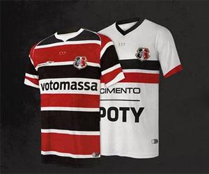 Camisas do centenário do Santa Cruz 2014 Penalty capa