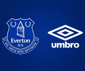Everton assina com a Umbro por 5 anos capa