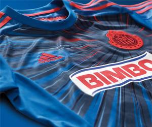Terceira camisa do Chivas Guadalajara 2014 Adidas capa