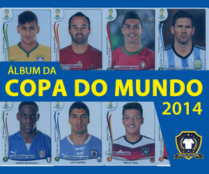 Álbum da Copa do Mundo 2014 Panini capa