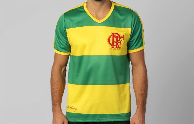 Camisa do Flamengo para a Copa do Mundo 2014