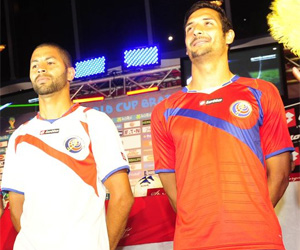Camisas da Costa Rica 2014-2015 Copa do Mundo capa