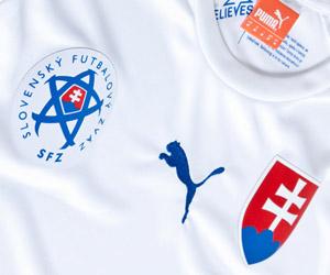 Camisas da Eslováquia 2014 Puma capa