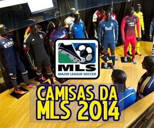 Camisas da MLS 2014 Adidas capa