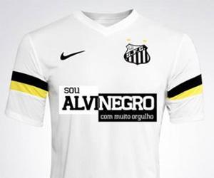Santos usará camisa contra o racismo capa