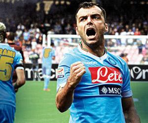 Camisa especial do Napoli 2014 Final da Copa da Itália Macron capa