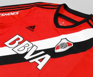 Camisa reserva do River Plate 2014-2015 Adidas capa