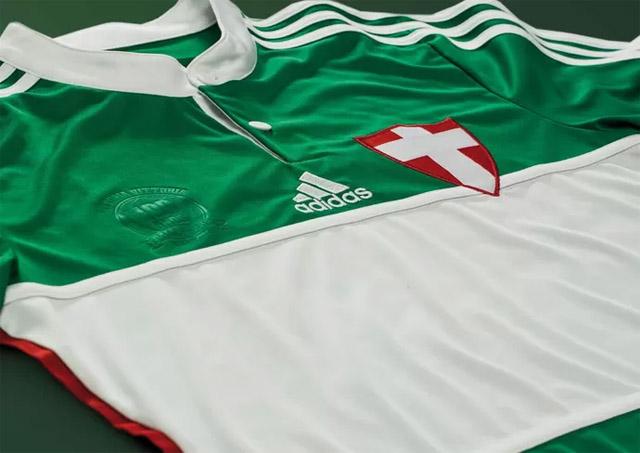 Terceira camisa do Palmeiras 2014 Centenário Adidas 2