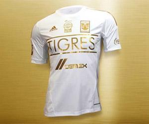 Terceira camisa do Tigres UANL 2014 Adidas capa