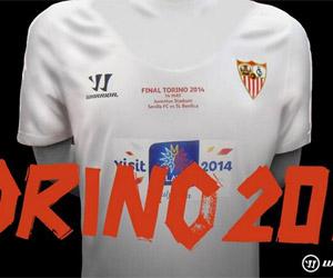 Camisa do Sevilla para a final da Liga Europa Uefa 2014 capa