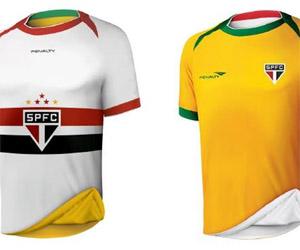Camisa reversível do São Paulo para a Copa do Mundo capa