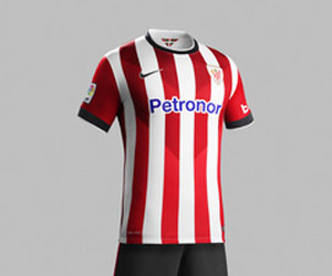 Camisas do Athletic Club Bilbao 2014-2015 Nike capa