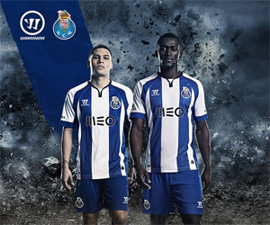 Camisa do Porto 2014-2015 Warrior capa