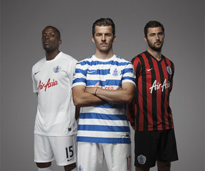 Camisas do Queens Park Rangers 2014-2015 Nike capa