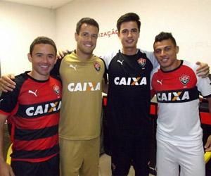 Camisas do Vitória 2014-2015 Puma capa