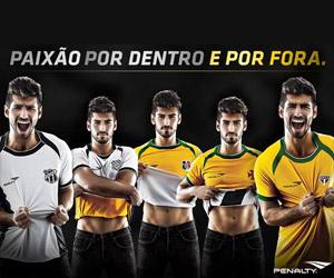 Camisas reversíveis da Penalty para a Copa do Mundo 2014 capa