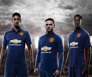 Terceira camisas do Manchester United 2014-2015 Nike capa