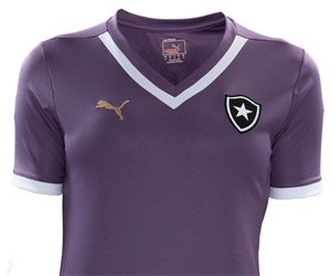 Botafogo e Puma lançam camisa roxa para o público feminino capa
