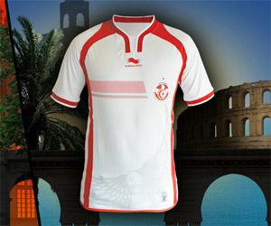 Camisa da Tunísia 2014-2015 Burrda Sport