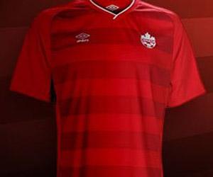 Camisa do Canadá 2014-2015 Umbro capa