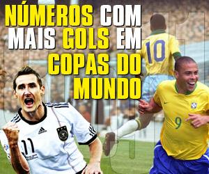 Números de camisas que marcaram mais gols em Copa do Mundo capa