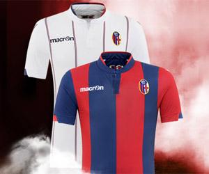 Camisas do Bologna 2014-2015 Macron capa
