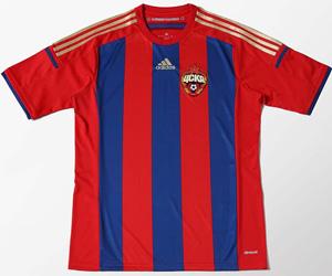 Camisas do CSKA Moscou 2014-2015 Adidas capa