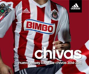 Camisas do Chivas Guadalajara 2014-2015 Adidas capa