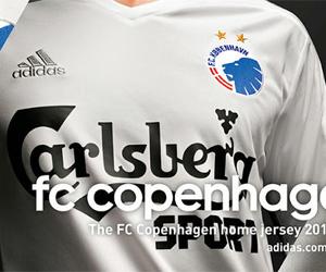 Camisas do Copenhagen 2014-2015 Adidas
