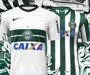 Camisas do Coritiba 2014-2015 Nike Titular capa