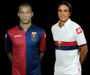 Camisas do Genoa 2014-2015 Lotto capa
