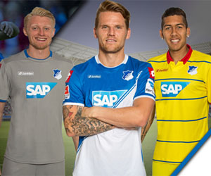 Camisas do Hoffenheim 2014-2015 Lotto capa