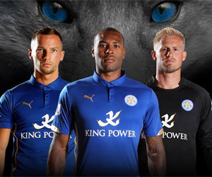 Camisas do Leicester City 2014-2015 Puma capa