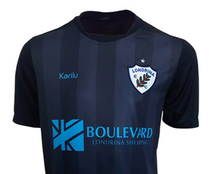 Camisas do Londrina 2014-2015 Karilu capa