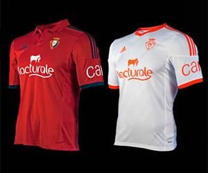 Camisas do Osasuna 2014-2015 Adidas capa